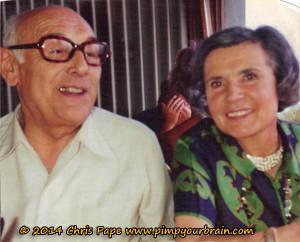 Lachende Marie und René